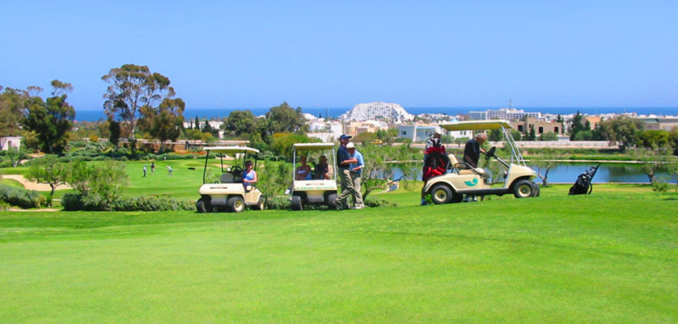 Stage perfectionnement Golf Kantaoui Sousse Tunisie