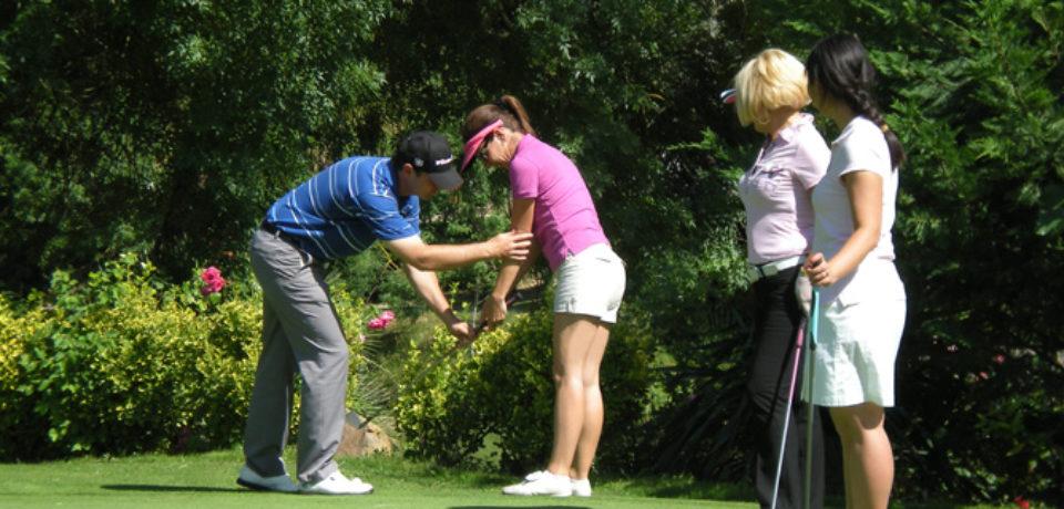 9 et 18 trous avec le pro Golf Carthage Tunisie