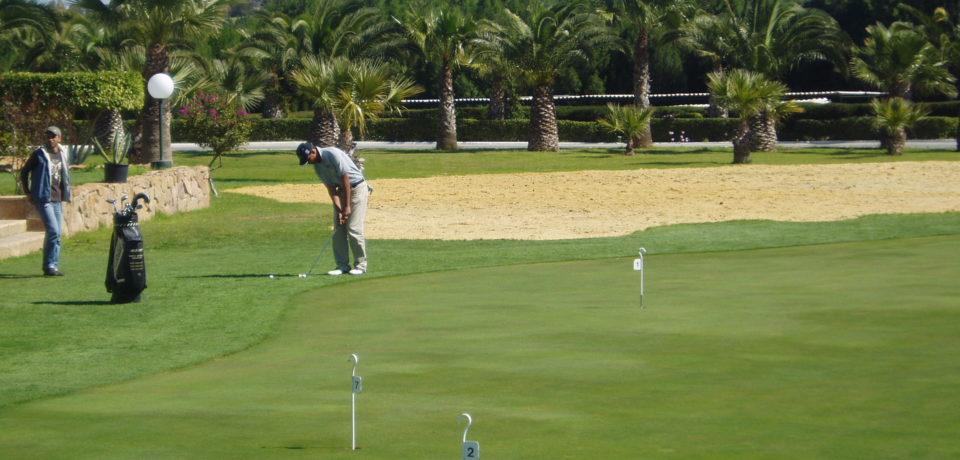 Golf Yasmine 27 trous Hammamet Tunisie