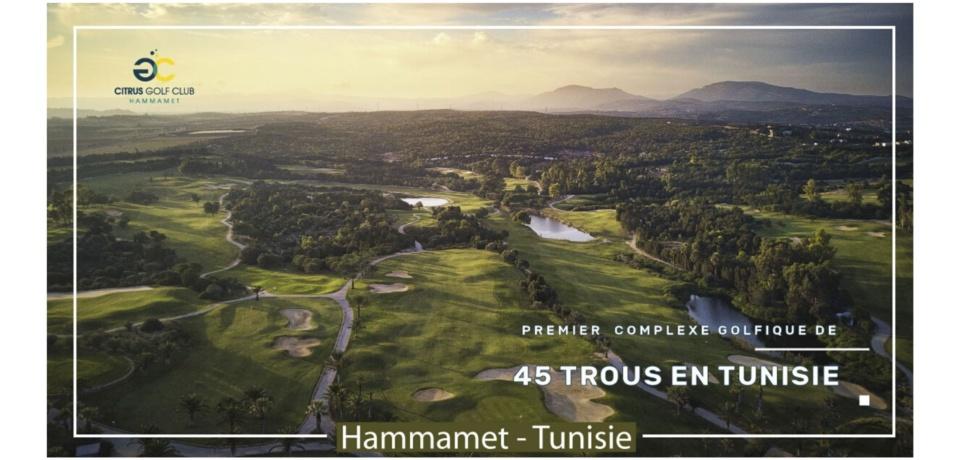Citrus Golf Club 45 Trous Tunisie