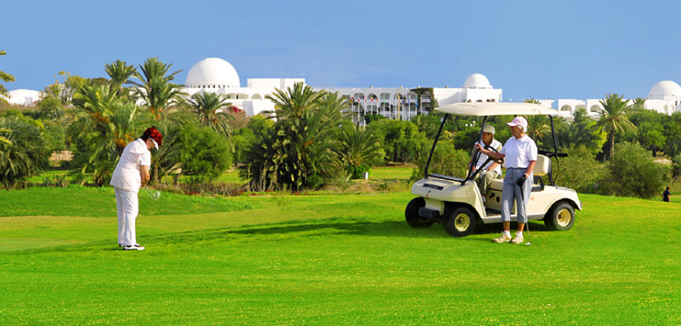 Golf de Djerba en Tunisie
