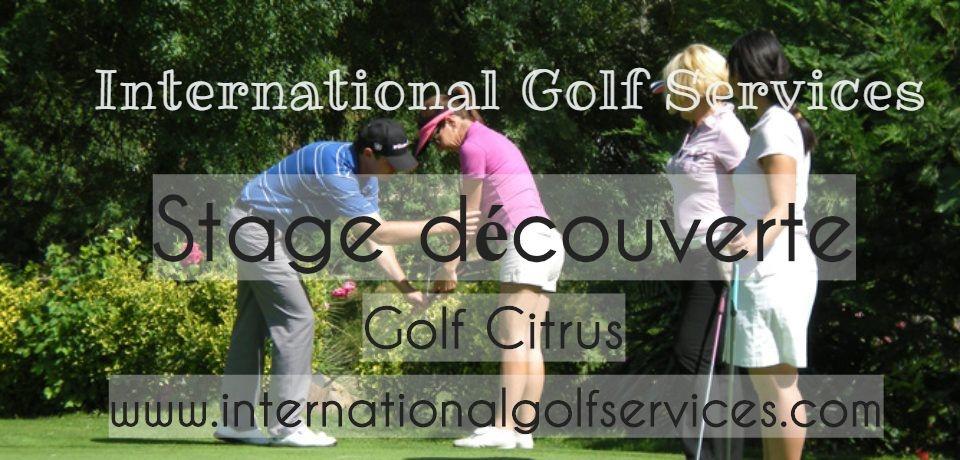 Stage Découverte Golf Citrus Hammamet