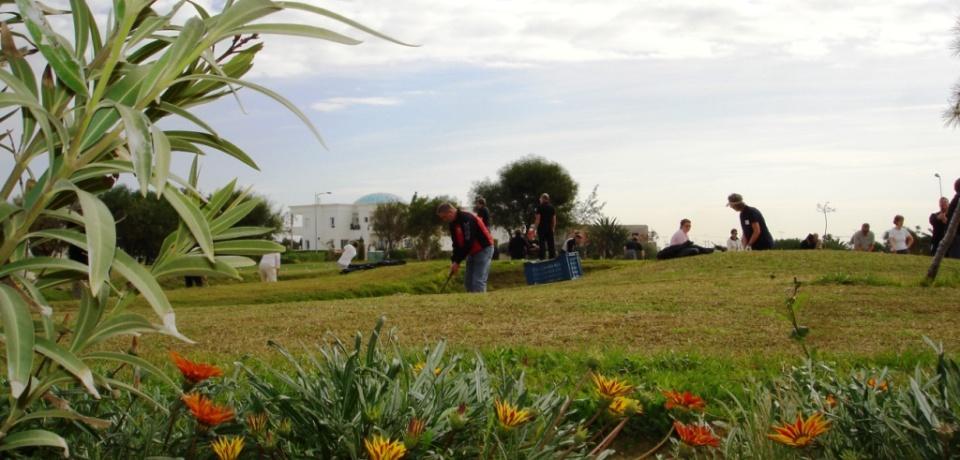 Parcours 09 trous accompagnés au Golf Palm Links Monastir Tunisie