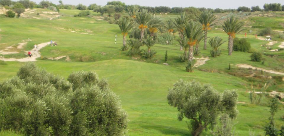 Parcours 18 trous accompagnés avec le pro au Golf Flamingo à Monastir Tunisie