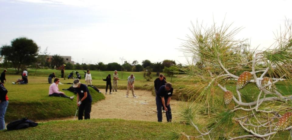 Parcours 9 trous avec le pro Golf Djerba Tunisie