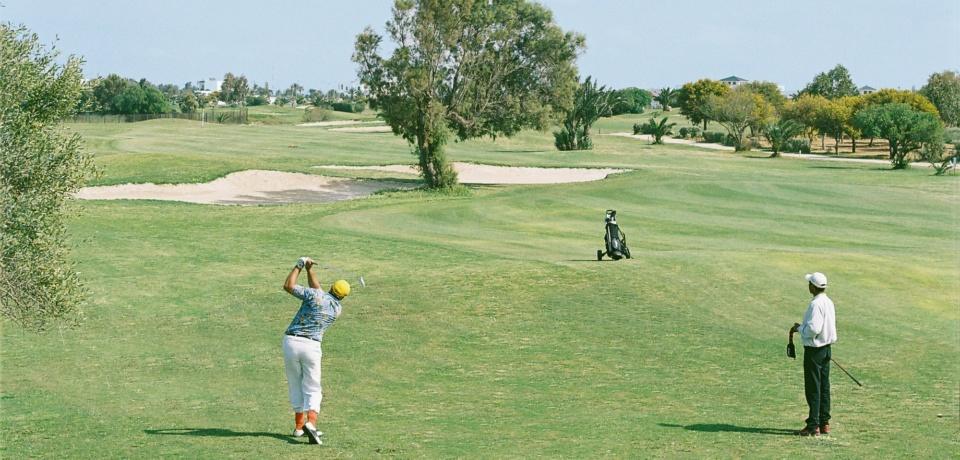 Parcours de 18 trous avec le pro au Golf Palm Links Monastir Tunisie