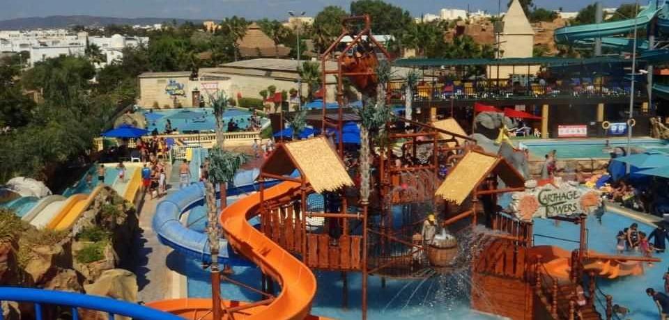 Parc attraction Carthage Land à Hammamet Tunisie