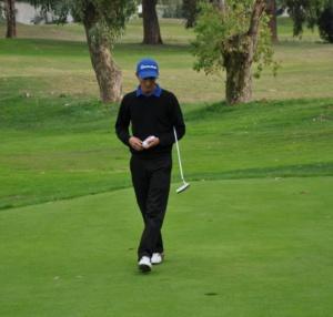 parcour avec Pro Golf Yasmine