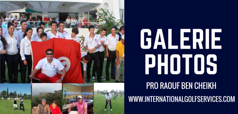 Galerie Golf Pro Raouf BEN CHEIKH