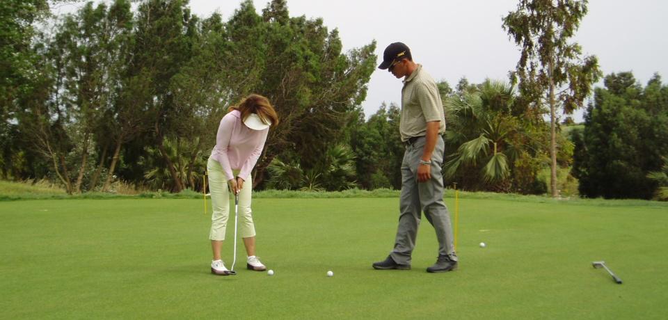 9 Trous en jouant avec le Pro Golf Yasmine Hammamet Tunisie