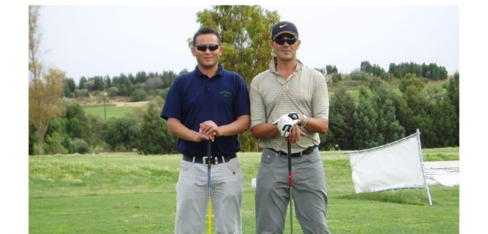 Parcours de 18 trous en jouant avec le Pro au Golf Yasmine Hammamet Tunisie