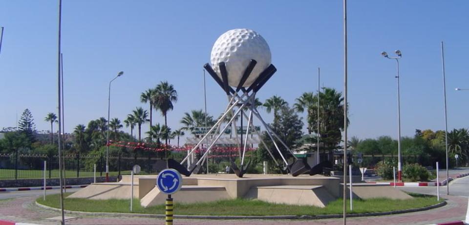 Parcours Golf Club El Kantaoui à Sousse Tunisie
