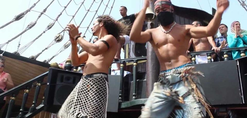 Balades en bateaux pirates en Groupe a Sousse Tunisie