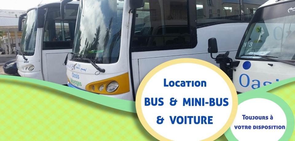 Location bus pour des groupes à Monastir Tunisie