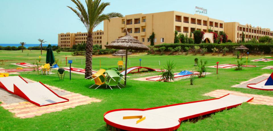 Stage découverte golf pour groupes à Mahdia Tunisie