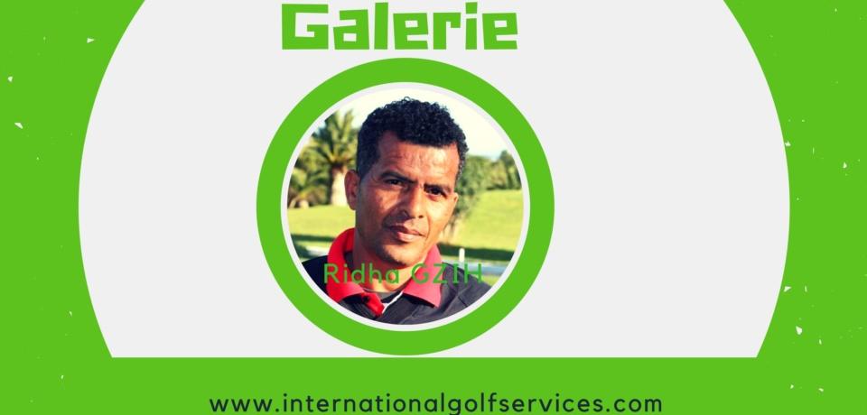 Galerie Golf Pro Ridha Gzih PGA Tunisie