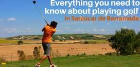Réservation Stage, Cours et Leçons au Golf Sanlucar à Cadix en Espagne