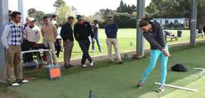 Réservation des cours et Leçons Golf au parcours Sant Cugat en Espagne