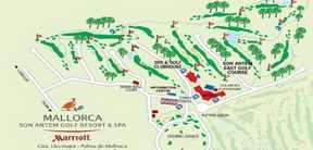 Réservation Tee-Time au Golf Son Antem à Mallorca en Espagne