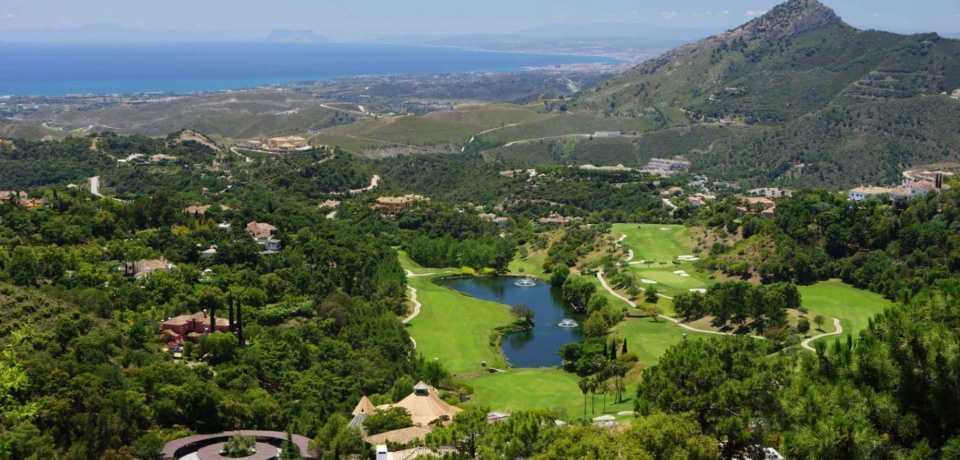Réservation Stage Cours et Leçons au Golf La Zagaleta a Málaga en Espagne