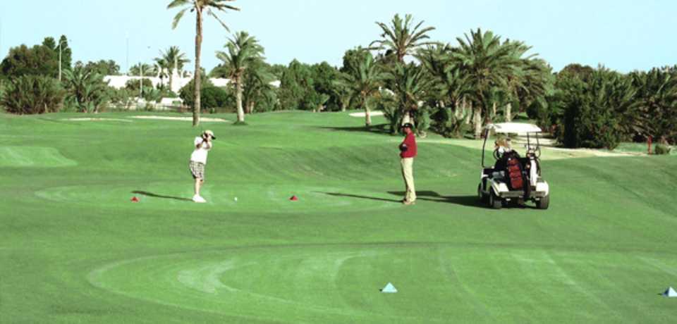 Réservation practice de Golf en Tunisie