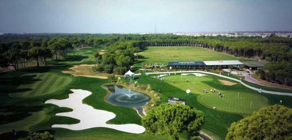 Réservation Tee-Time au Golf Montgomerie Maxx Royal Belek en Turquie