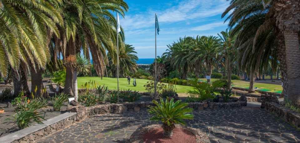 Golf Costa Teguise à Gran Canaria, île des Canaries en Espagne