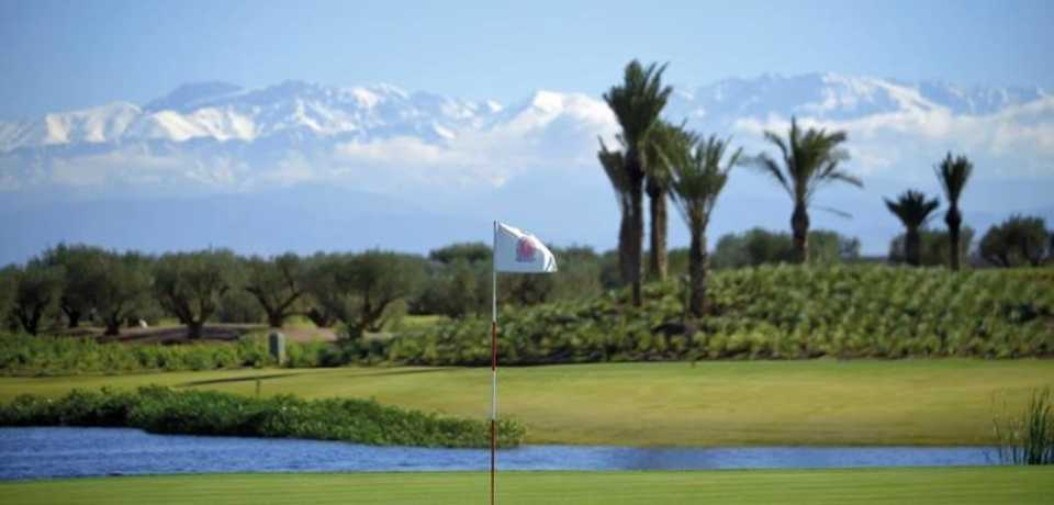 Golf Fairmont Royal Palm à Marrakech Maroc