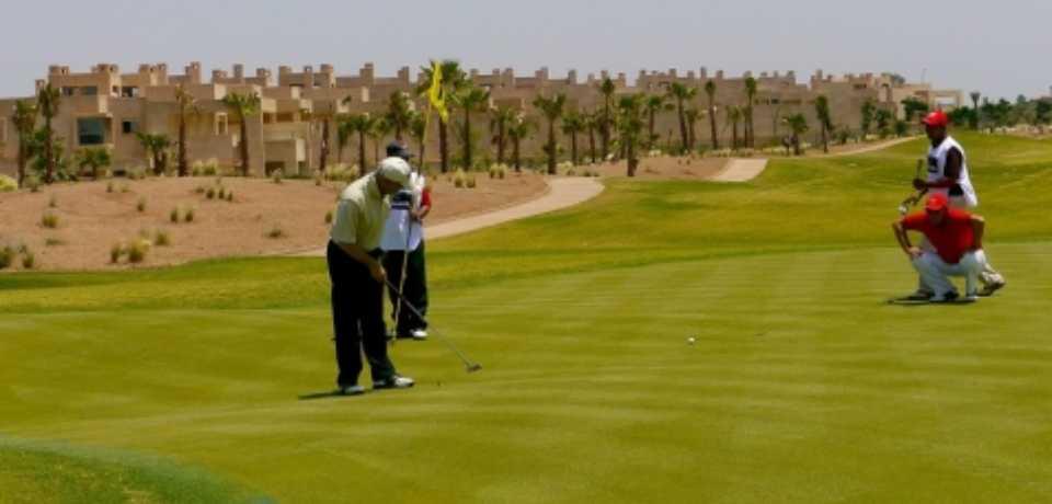 Golf The Montgomerie à Marrakech Maroc