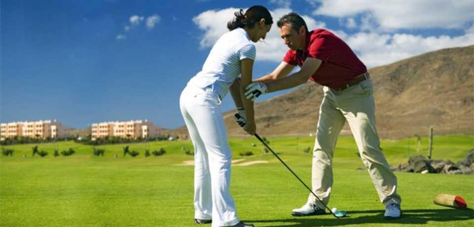 Golf Playitas à Gran Canaria, île des Canaries en Espagne