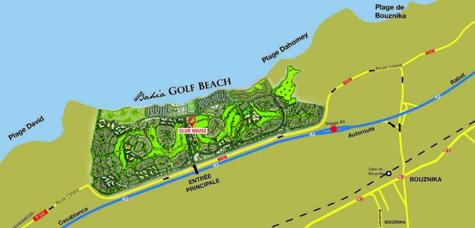 Réservation Green Fee au Bahia Golf Beach a Casablanca Maroc