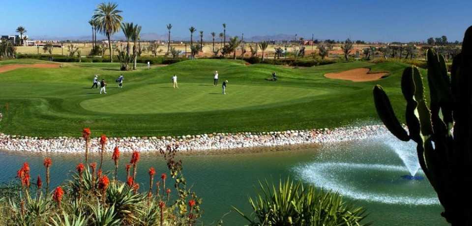 Réservation Green Fee au Golf La Noria à Marrakech Maroc
