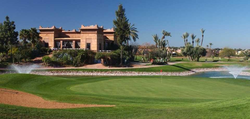 Réservation Tee-Time au Golf Amelkis à Marrakech Maroc