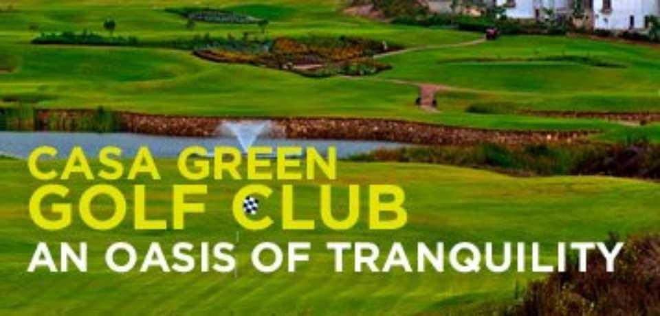 Réservez CasaGreen Golf Club a Casablanca Maroc