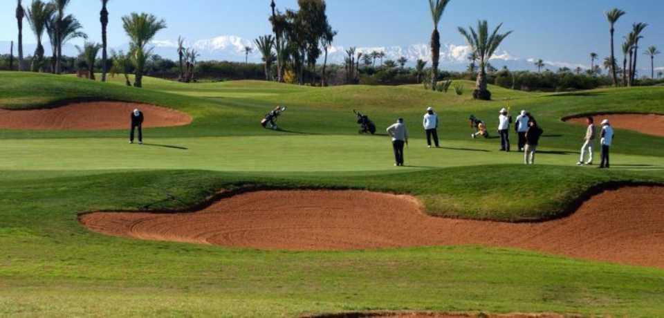 Réservation Tarif Promotion au Golf Tony Jacklin à Marrakech Maroc