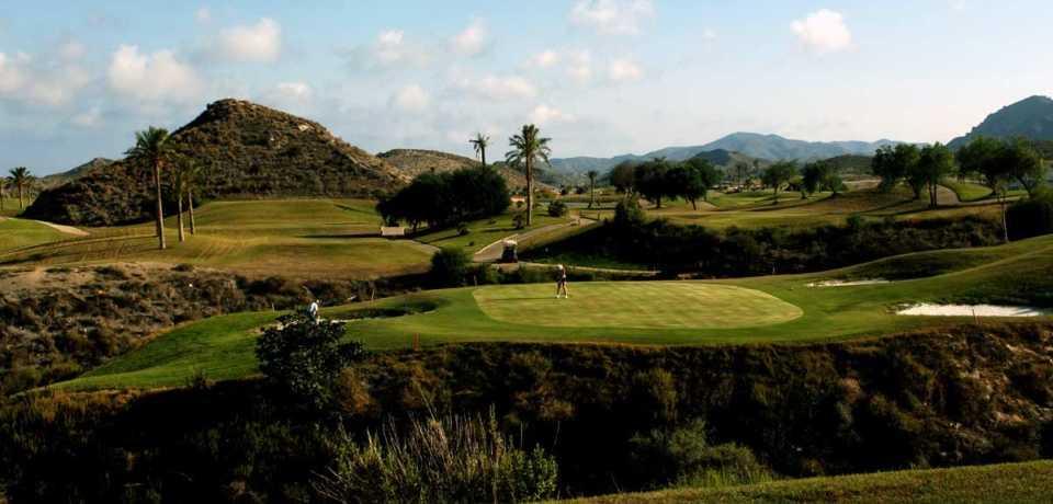 Golf Aguilon à Costa de Almeria en Espagne