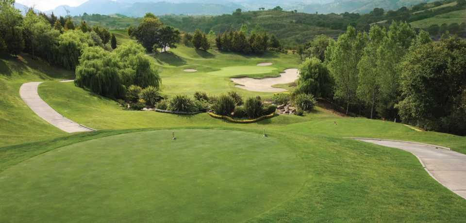 Golf El Bosque à Valence en Espagne
