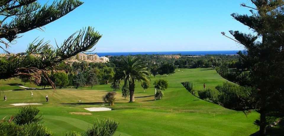 Golf Campoamor à Alicante, Valence en Espagne