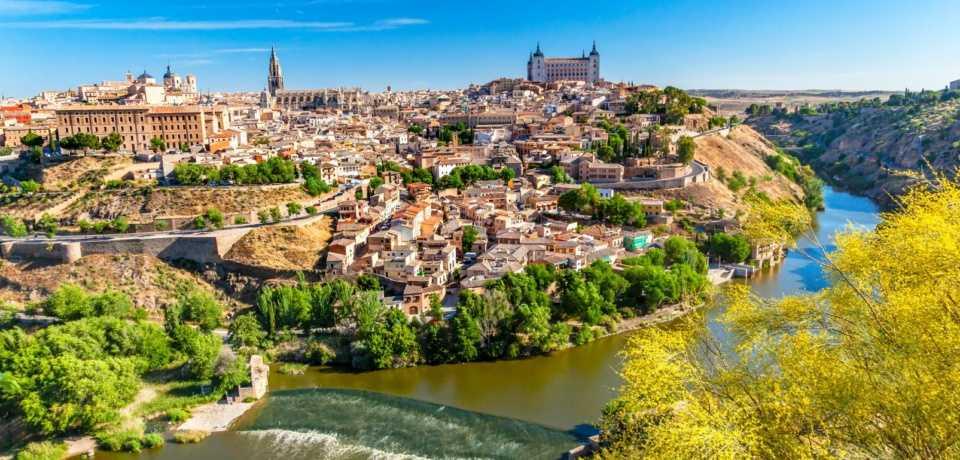 Castille la Manche en Espagne