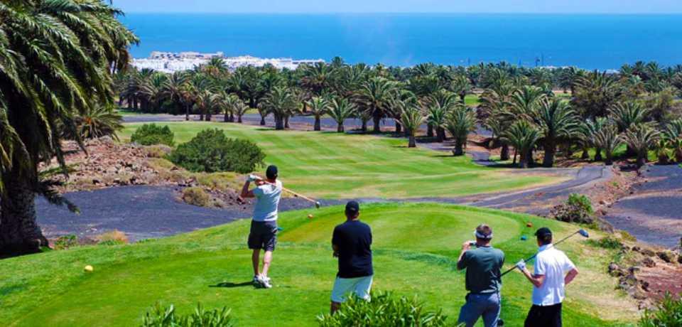 Golf Lanzarote à Gran Canaria, île des Canaries en Espagne