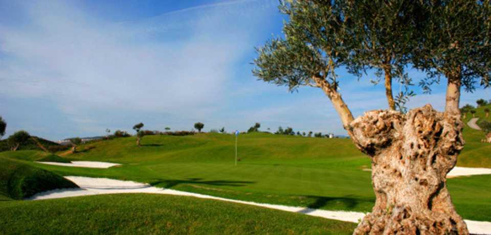 Golf Cerrado del Aguila à Malaga Andalousie en Espagne