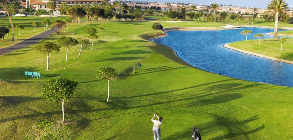 Golf Fuerteventura à Gran Canaria, île des Canaries en Espagne