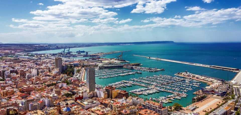 Alicante à Valence en Espagne