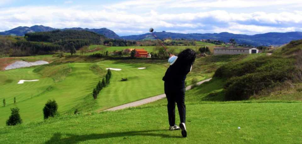 Golf la Barganizaà Principauté des Asturies en Espagne