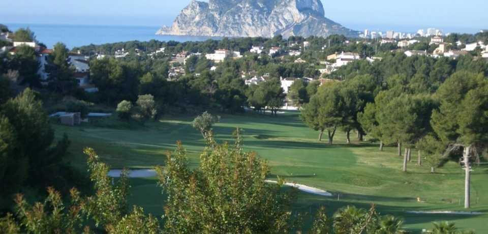 Golf Ifach à Valence en Espagne