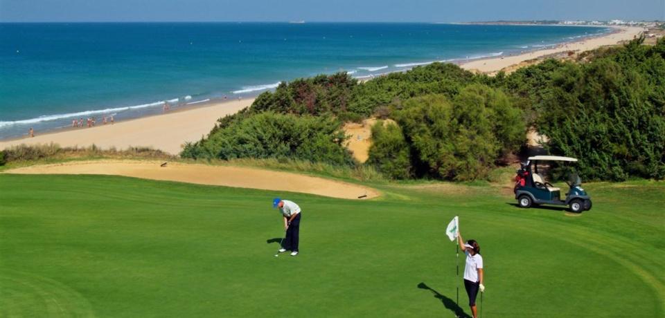 Golf a Cadix en Espagne