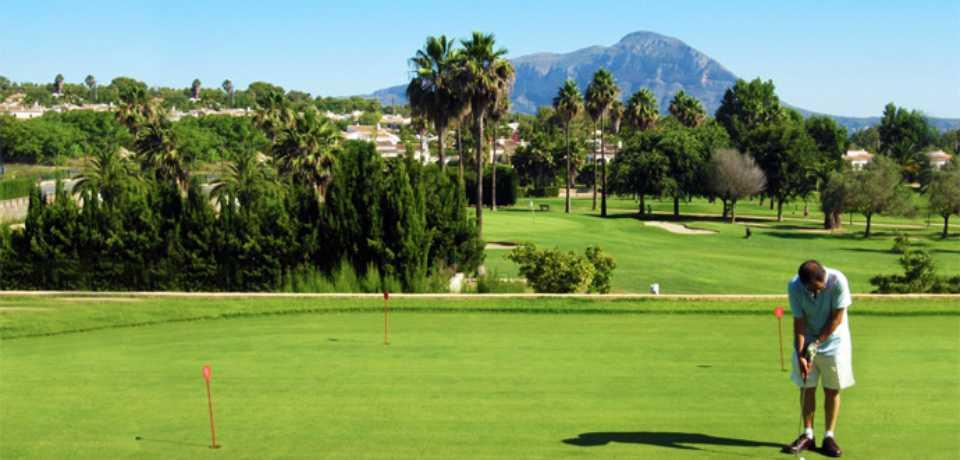Golf Javea à Valence en Espagne