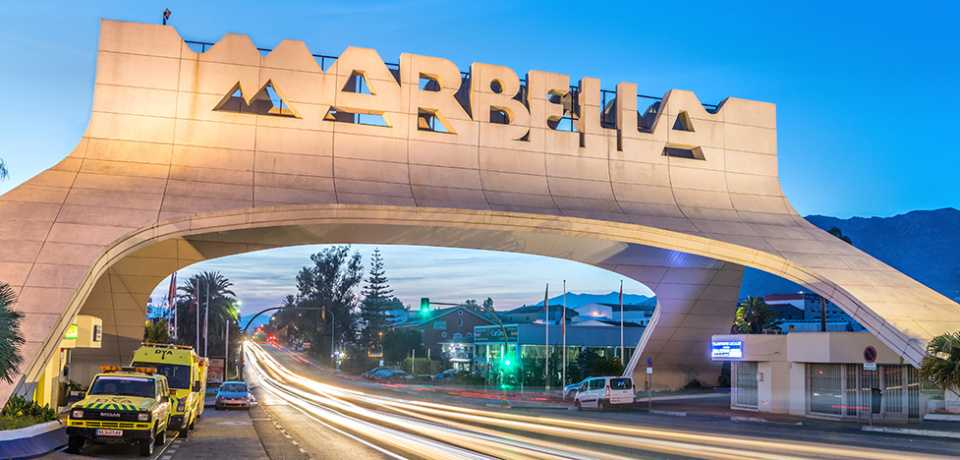 Marbella à Andalousie en Espagne