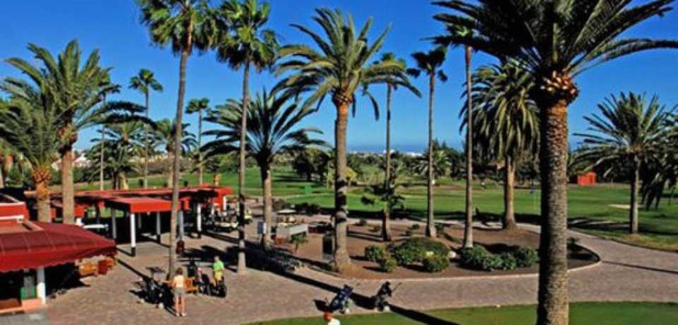 Golf Maspalomas à Gran Canaria, île des Canaries en Espagne