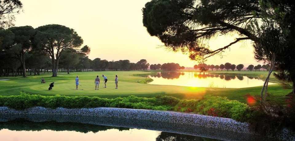 Golf Gloria en Turquie